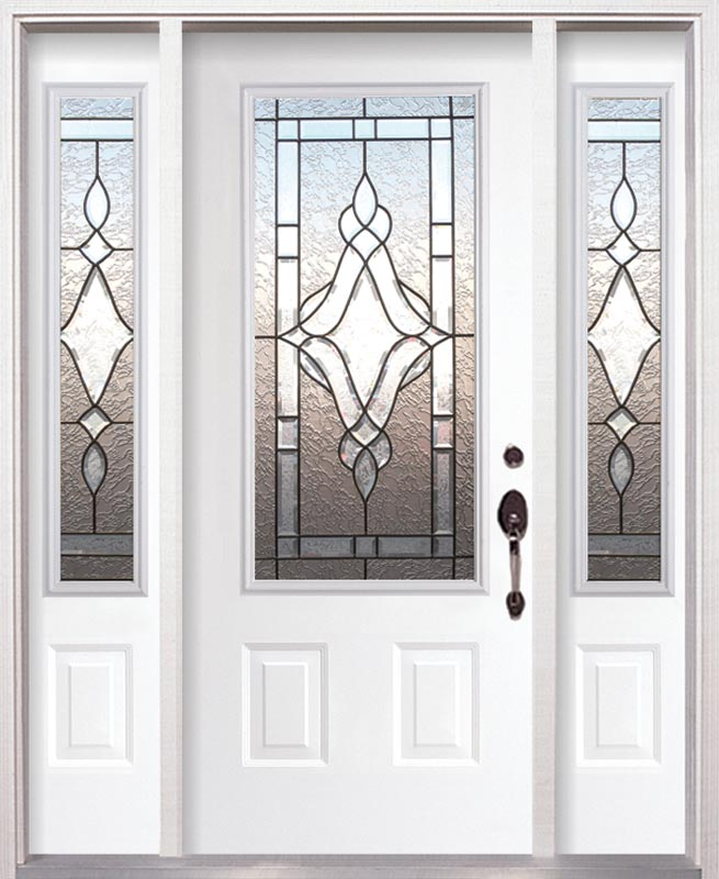 Decorative Glazing In Doors : Decorative glass for entry and interior doors gallery