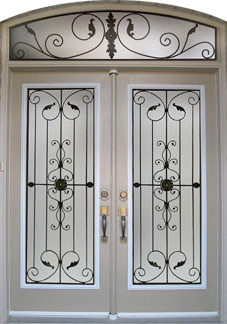 wrought iron door inserts gallery manufacturers of high quality