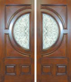 Custom Entry Wood Doors