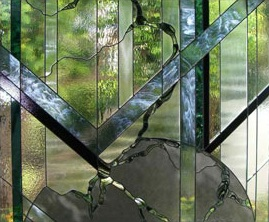 decorative glass entry doors